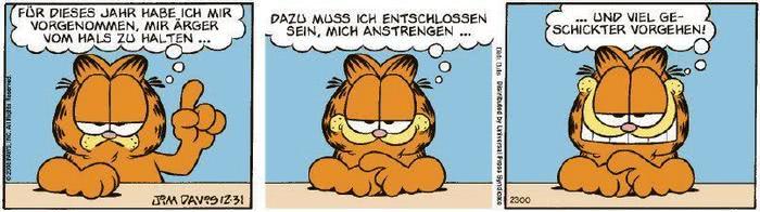 Garfield vom 03.01.2020