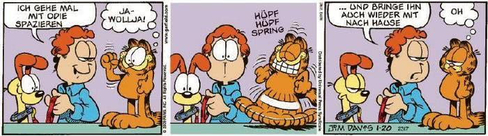 Garfield vom 29.01.2020