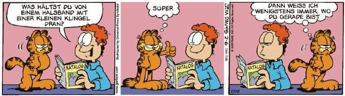Garfield vom 19.02.2020