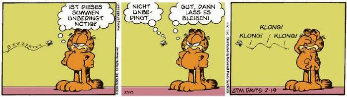 Garfield vom 05.03.2020