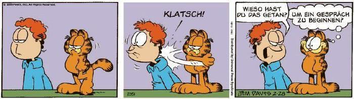 Garfield vom 11.03.2020
