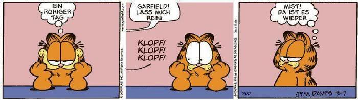 Garfield vom 19.03.2020