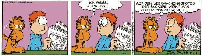 Garfield vom 27.03.2020