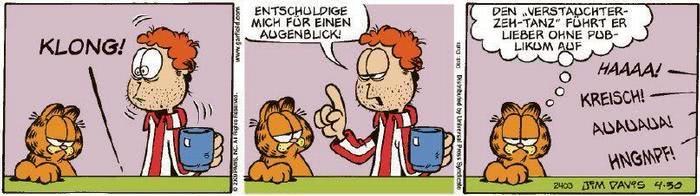 Garfield vom 28.05.2020