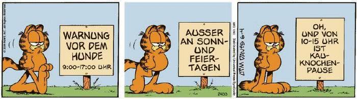 Garfield vom 10.07.2020
