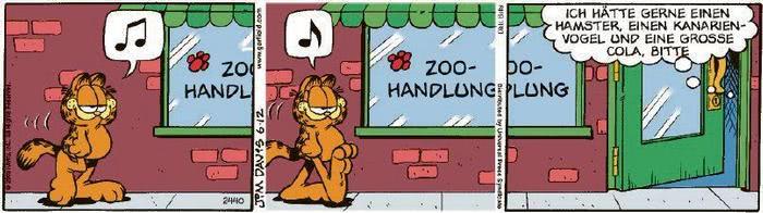 Garfield vom 21.07.2020
