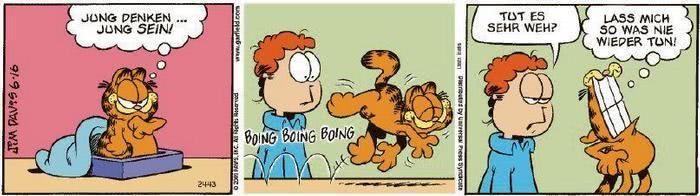 Garfield vom 24.07.2020