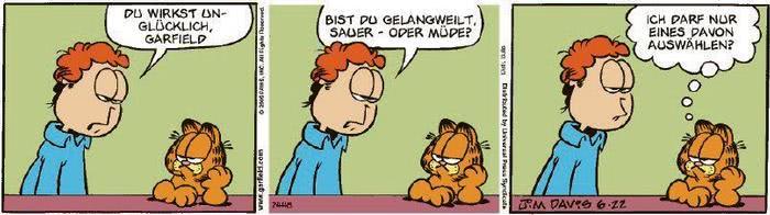 Garfield vom 27.07.2020