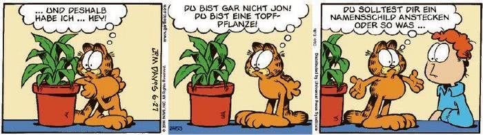 Garfield vom 03.08.2020