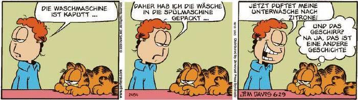 Garfield vom 04.08.2020