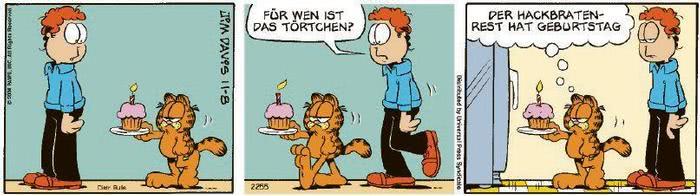 Garfield vom 24.08.2020