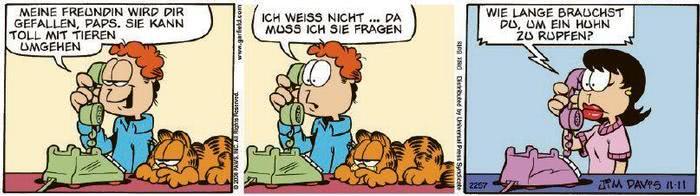 Garfield vom 26.08.2020