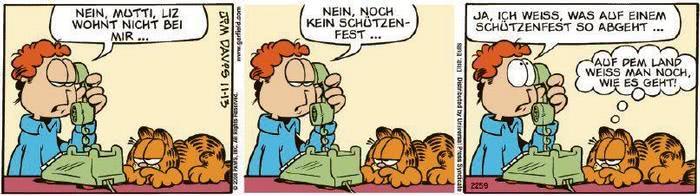 Garfield vom 28.08.2020