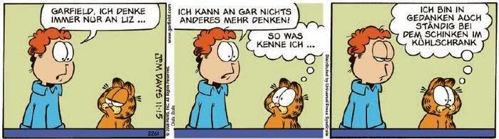 Garfield vom 01.09.2020