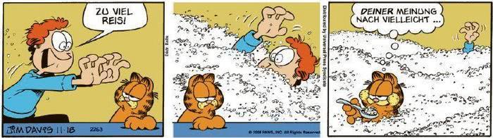 Garfield vom 03.09.2020
