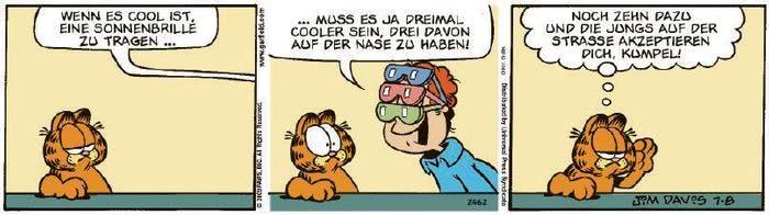 Garfield vom 10.09.2020