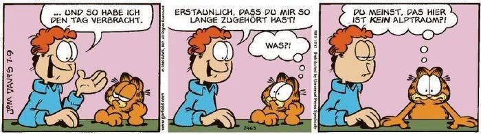 Garfield vom 11.09.2020
