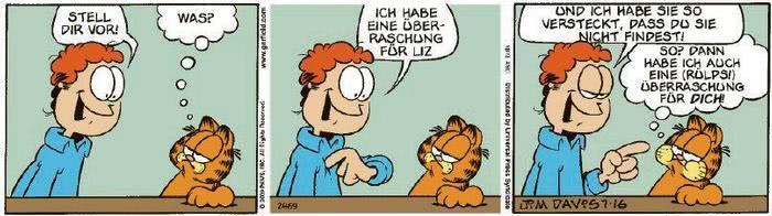 Garfield vom 21.09.2020