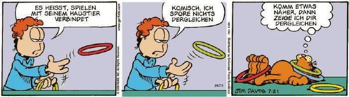 Garfield vom 25.09.2020