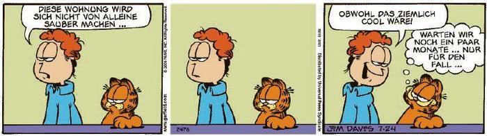 Garfield vom 30.09.2020