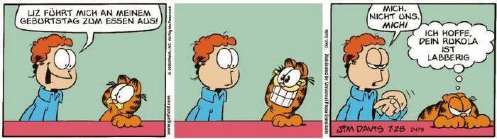 Garfield vom 05.10.2020
