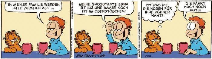 Garfield vom 06.10.2020
