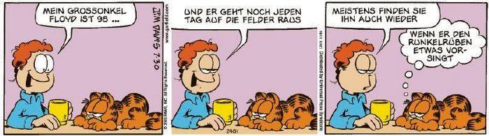 Garfield vom 07.10.2020