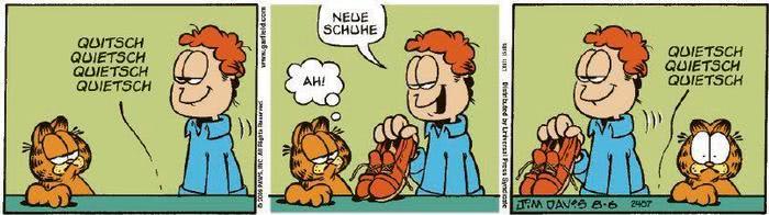Garfield vom 15.10.2020