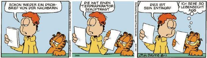 Garfield vom 21.10.2020