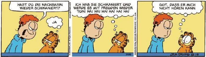 Garfield vom 27.10.2020