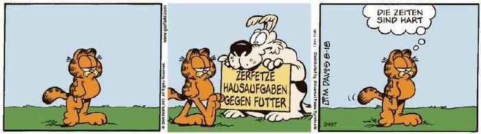 Garfield vom 29.10.2020