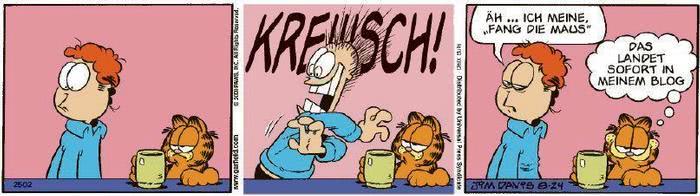 Garfield vom 05.11.2020