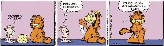 Garfield vom 11.11.2020