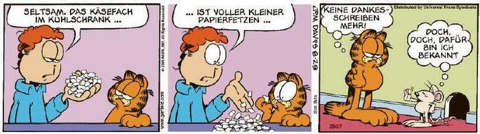 Garfield vom 12.11.2020