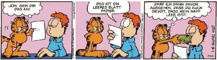 Garfield vom 16.11.2020