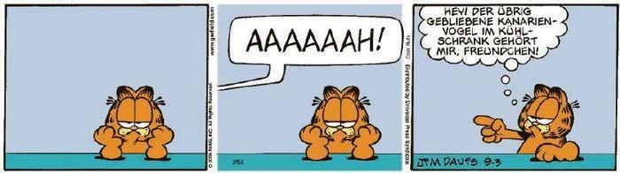 Garfield vom 18.11.2020