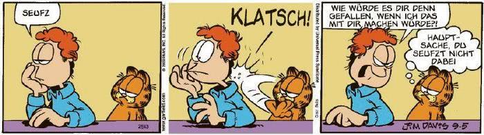 Garfield vom 20.11.2020