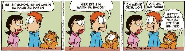 Garfield vom 26.11.2020