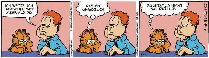Garfield vom 03.12.2020