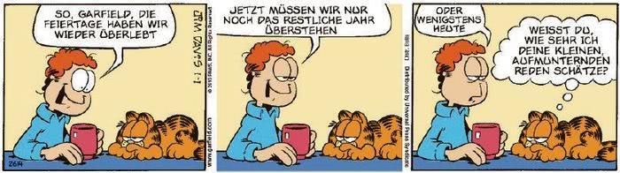 Garfield vom 04.01.2021