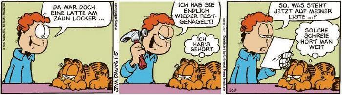 Garfield vom 08.01.2021