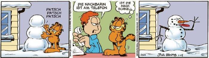 Garfield vom 15.01.2021