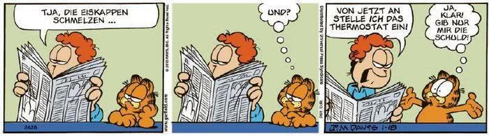 Garfield vom 25.01.2021