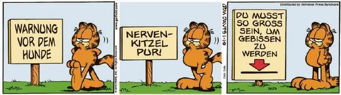 Garfield vom 26.01.2021