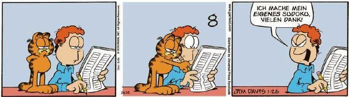 Garfield vom 03.02.2021