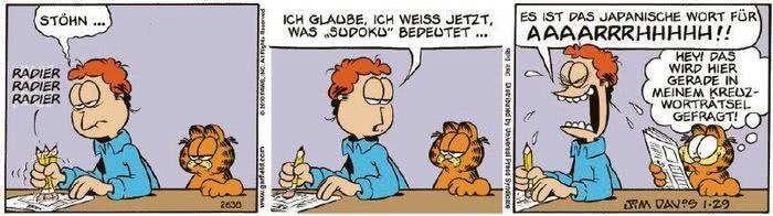 Garfield vom 08.02.2021