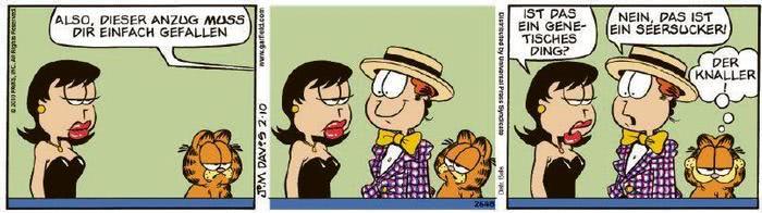 Garfield vom 22.02.2021