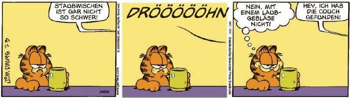Garfield vom 24.02.2021