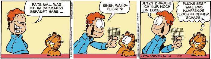 Garfield vom 02.03.2021