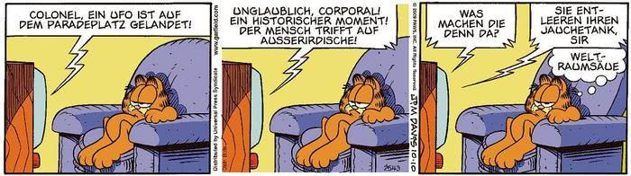 Garfield vom 11.03.2021